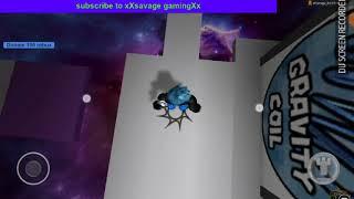 Jugar escapar el roblox obby en la tableta (mi creación roblox) con xXsavage gamingXx