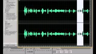 Как обработать акапеллу в Adobe Audition 3.0