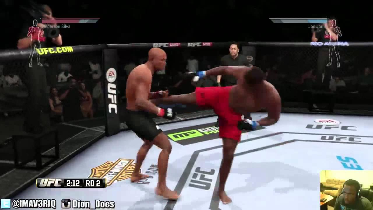 Jon Jones Vs Anderson Silva Ufc Fights 2014 Jon Jones Vs Anderson Silva Hightlights Youtube