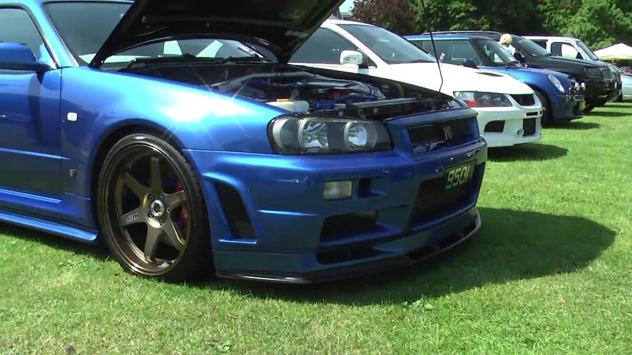 Amazing R34 Skyline GTR VSpec II Nur  YouTube