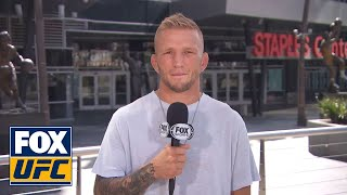 T.J. Dillashaw gives his thoughts on what to expect from Cody Garbrandt   INTERVIEW   UFC TONIGHT