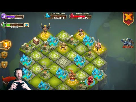 Level 29 Lost Realm Toughest Teams That Exist Double Evolved Heroes Castle Clash