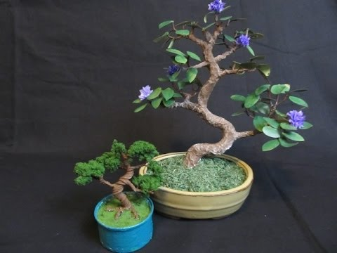 make a bonsai tree out of wire youtube rh youtube com Bonsai Wire Sizes Bonsai Wiring Tips