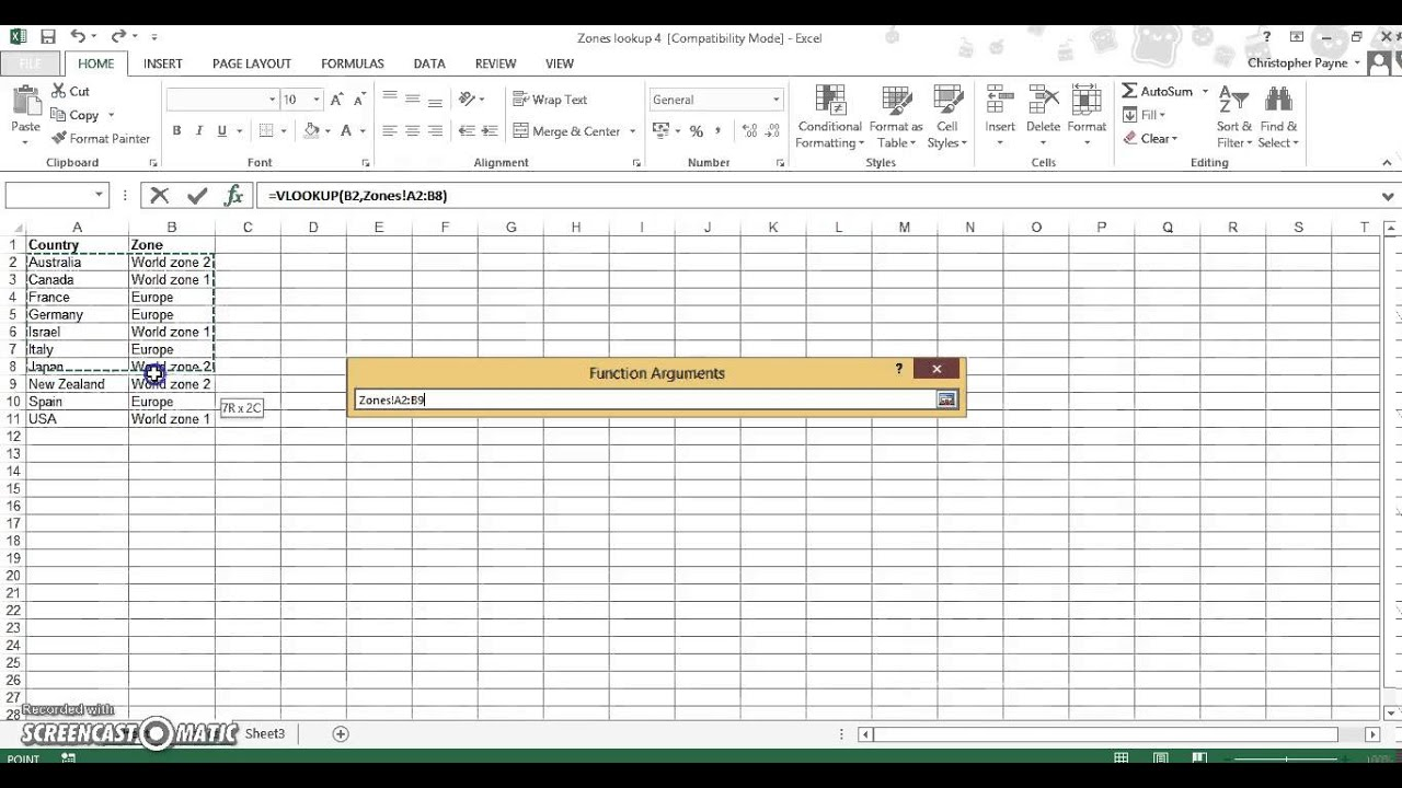Vlookup Multiple Worksheets YouTube – Vlookup Across Multiple Worksheets