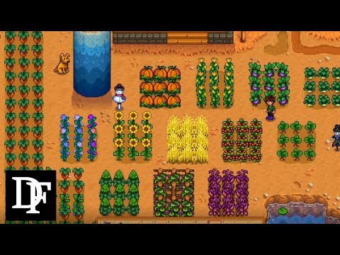 The Best and Worst Crops! - Stardew Valley Gameplay HD