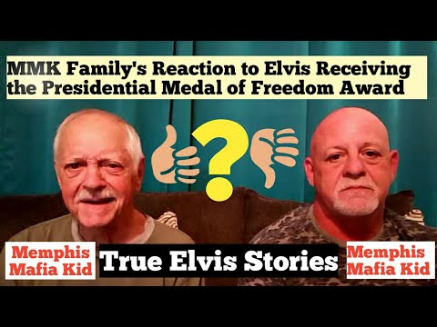 MMK Family's Reaction to Elvis Receiving the Presidential Medal of Freedom Award