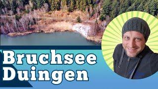 Der Bruchsee bei Duingen - DJI Mavic Air - Drone Footage Germany Large Swimming Lake Lower Saxony