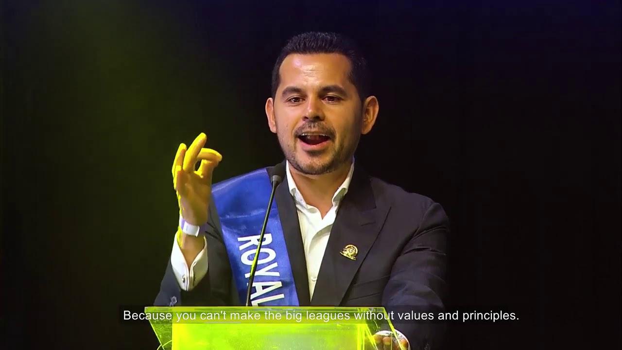 Jose Ardon Royal Diamond Promotion in MELiUS - YouTube