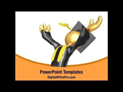 Alma Mater Graduation Powerpoint Template Backgrounds