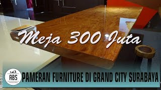Pameran Furniture   Harga Meja Rosewood Mencapai 300 Juta Rupiah