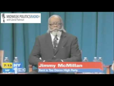 The Rent is Too Damn High Party Jimmy McMillan Debates for NY Gov