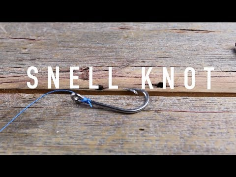 How To Tie A Snell Knot: The Best Knot For Flipping Heavy Cover