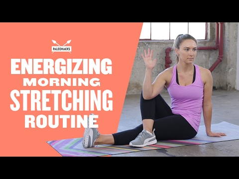 5 Energizing Stretches Which Will Wake You Up And Improve Versatility