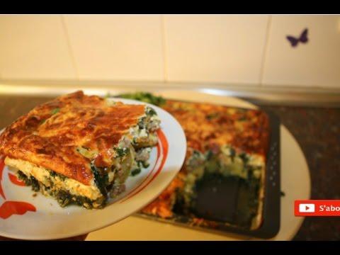 cuisine-algérienne:gratin-aux-epinards-(غراتآن-السبانخ-وبطاطا)---matbakh-kamar