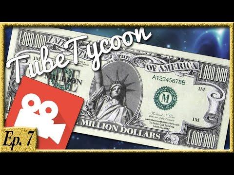 I STOLE ONE MILLION DOLLARS! - Tube Tycoon Ep. 7