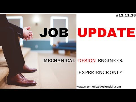 Job Update For Mechanical Design Engineer { Experience Only} Apply ASAP