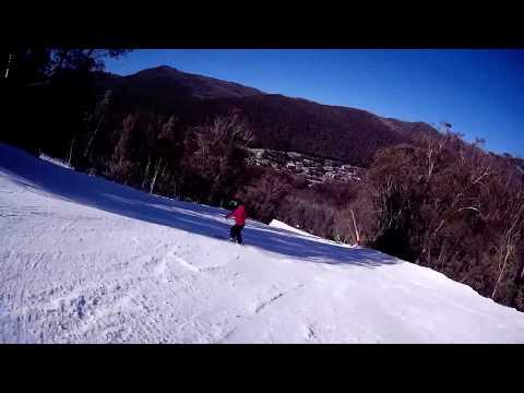 Skiing Australia Thredbo Gunbarrel Express