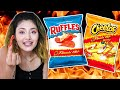 Flamin' Hot Lovers Try Every Flamin' Hot Snack