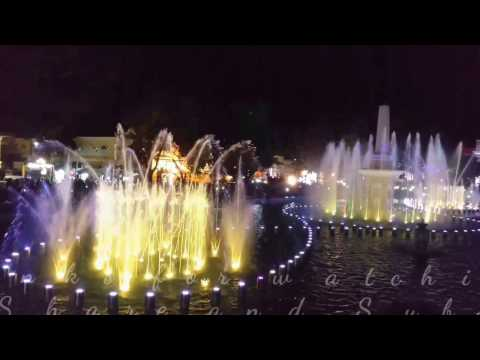 Vigan's dancing fountain , Philippines