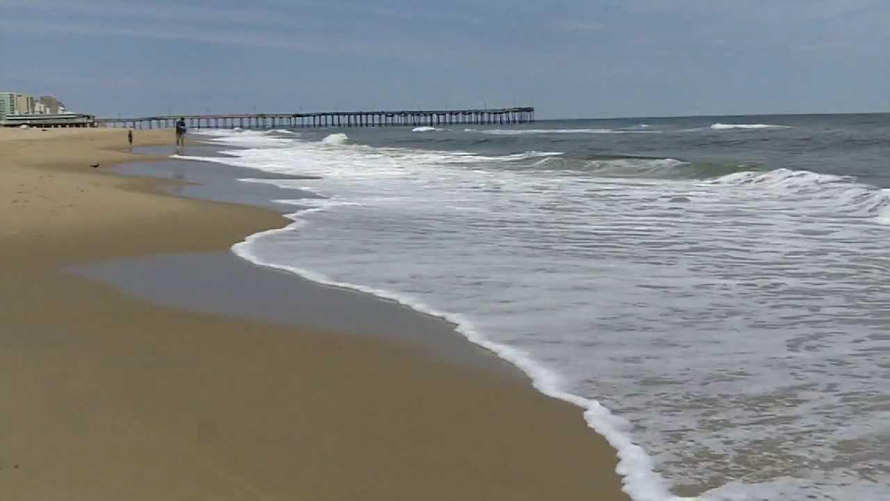 Virginia Beach Ocean Waves