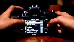 Nikon D7100 Tutorial. How to Tutorial Menu Set Up Guide Part 1