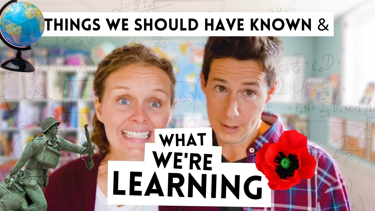 Things We Should Have Known & What We're Learning (Remembrance Day)