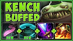 """RIOT?? KENCH'S """"NERFS"""" MAKE HIM 100% BUSTED SOLO LANER! TAHM KENCH TOP GAMEPLAY! - League of Legends"""