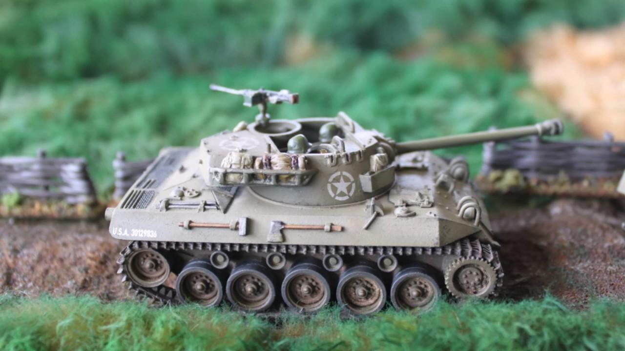 Bolt Action 28mm scale World War II US M18 Hellcat Tank Destoyer