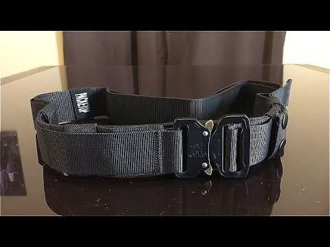 REVIEW: Packetop Tactical Belt -- LEGIT BELT!