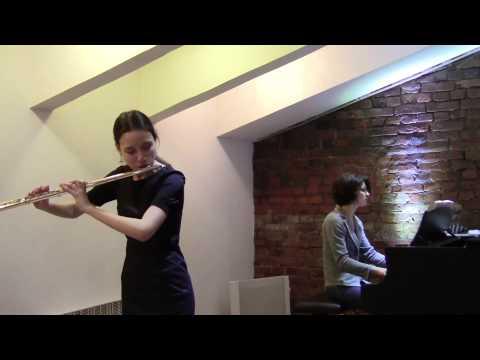 Дягилева Дарья - 02 К.Ф.Э.Бах - Концерт ре минор для флейты с оркестром, 3 часть