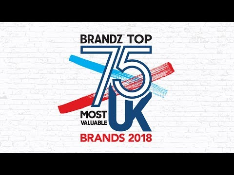 BrandZ Top75 Most Valuable UK Brands | Countdown