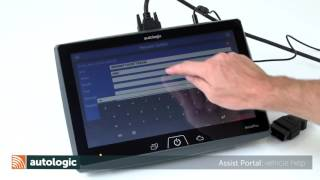 Autologic AssistPlus using the Assist Portal HD