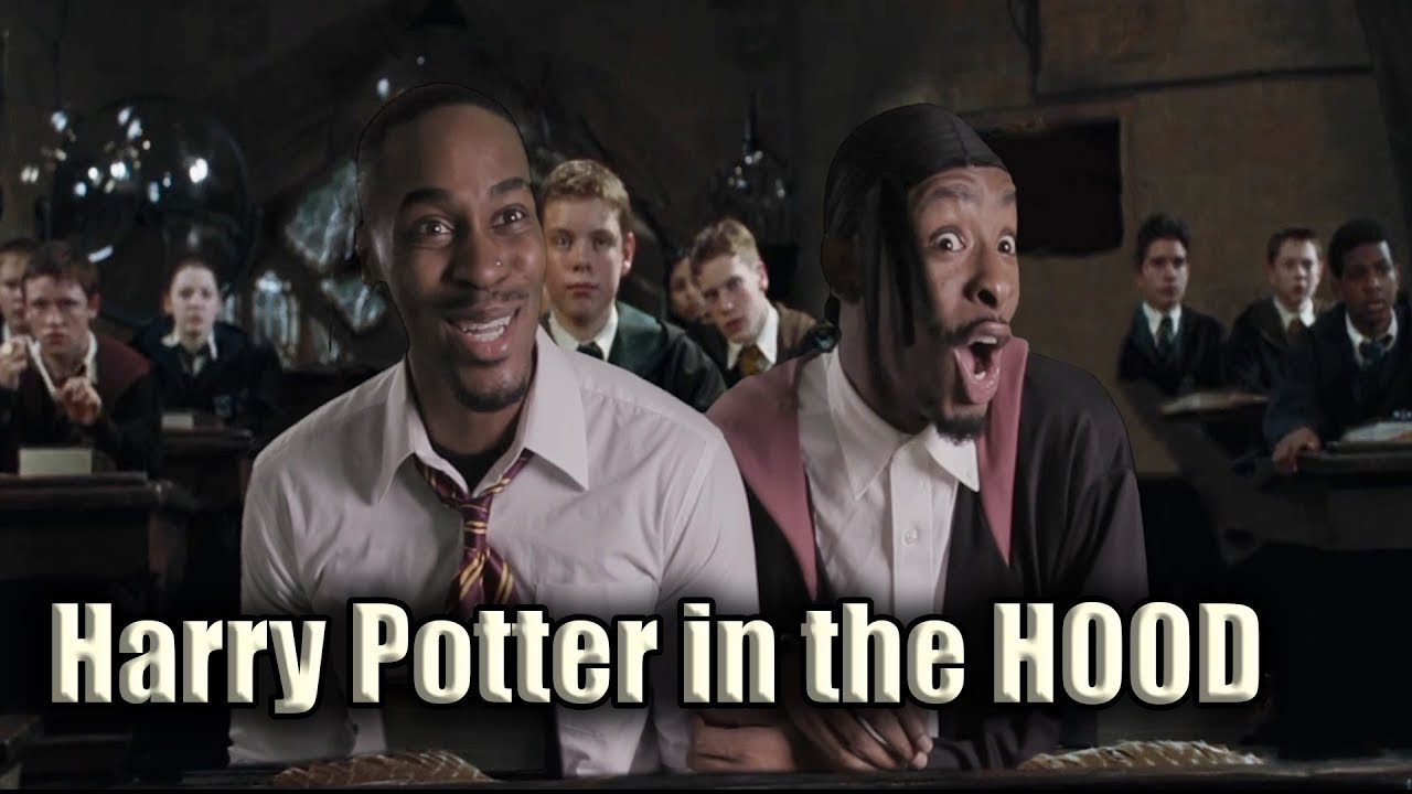 How HOOD kids treat substitutes (Harry Potter Parody) [FEAT KmooreTheGOAT]