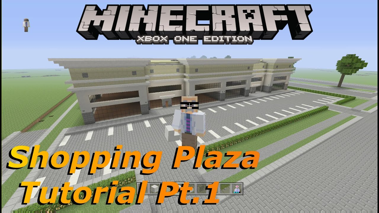 How To Build A Shopping Mall In Minecraft