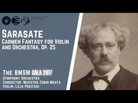 P. Sarasate - Carmen Fantasy for Violin and Orchestra, Op. 25 - Zubin Mehta