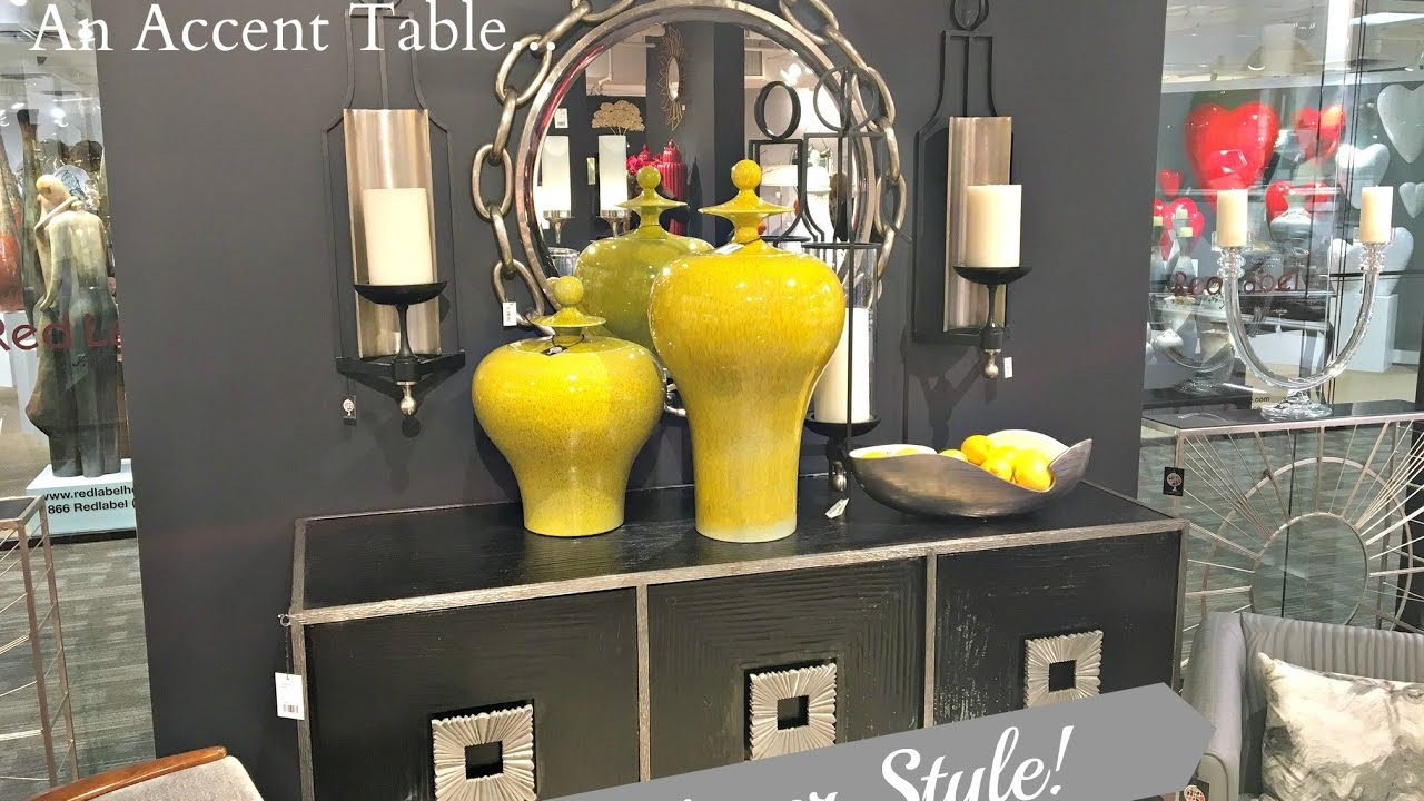 new 5 ways to decorate an accent table designer style