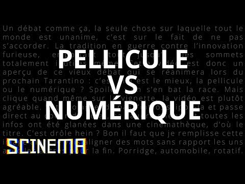 SCINEMA TECH #1 : PELLICULE VS NUMERIQUE