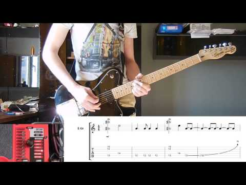 Guitar guitar cover with tabs : Muse - Unsustainable guitar cover with tabs and correct effects ...