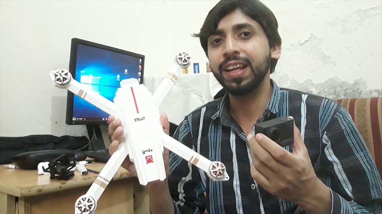 Review/Test of Mjx Bugs with Sj Cam (Sj 6 Ledgent) картинки