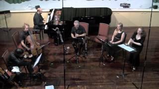 """Pierrot Lunaire pt3"" - Arnold Schönberg, performed by TrioInk, Rachel & Jonathan Krehm, Amelia Lyon"