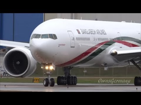 Biman Bangladesh 777-300ER Customer Flight Before Delivery @ KPAE