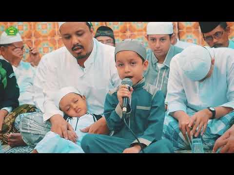 Sayid Muhammad Hadi, Asyik Berqosidah adik nya tertidur LUCU :D