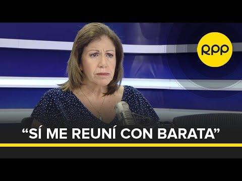 """""""Sí hubo reunión con Jorge Barata en mi casa"""": ENTREVISTA COMPLETA A LOURDES FLORES NANO"""