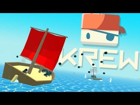 Krew - Becoming The Best Pirate! - Multiplayer Piracy Game - Krew.io Gameplay