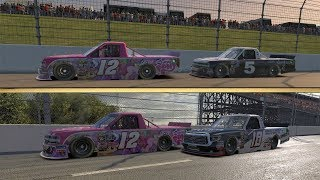 Racing With Bubba Wallace And Noah Gragson (IRacing)