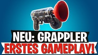 NOUVEL ARTICLE DE GRAPPLER (FR) PREMIER GAMEPLAY - NOUVEAU MODE - SKINS SHOWN Fortnite Bataille Royale