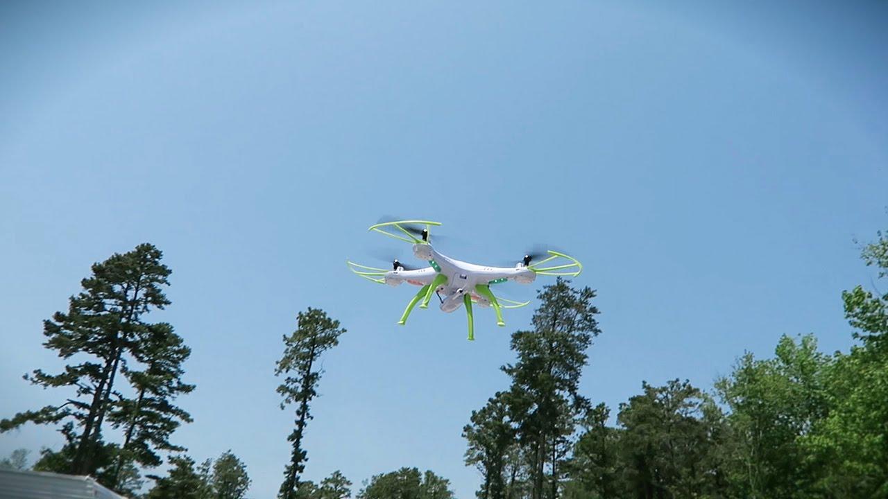 13 Syma Drone X5hc Kamera Hd 2 Mp Altitude Hold Biru