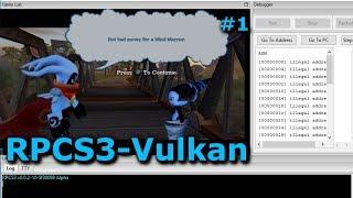 [PS3 Emulator] RPCS3-LLVM-Vulkan | Tornado Outbreak #1