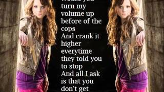 Tiffany Alvord - Stereo Hearts ~ Lyrics