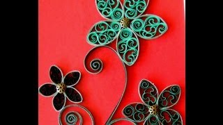 ✿ Quilling -  Floare -  Tutorial 6 - AidaCrafts
